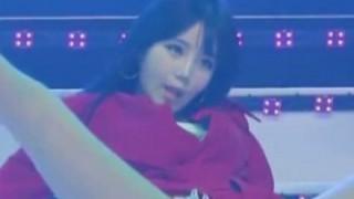 ほとんどストリップ 韓国人女性アイドルさん『ハミケツ ハミマン』やりたい放題な模様 → 画像と動画