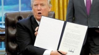 トランプ新大統領令「お餅禁止令」に署名、効力は在米邦人のみ -4月1日より