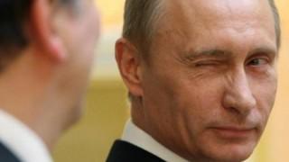 拡散した人は収監罰金 ロシア政府が禁じたプーチン大統領コラ画像がコチラ →