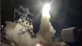 第三次チーム分けが決定!アメリカのシリア空爆 各国の反応 / シリアに向けたトマホークミサイル発射映像