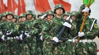 中国軍が北朝鮮国境地帯に10万人の兵力を展開