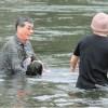 スーパードクター爺 川に飛び込み男児を救助する映像がカッコよすぎる(゚∀゚)