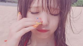 【ハミ毛】藤田ニコルちゃんアソコの毛が水着からはみ出てる画像 インスタ投稿する痛恨のミス