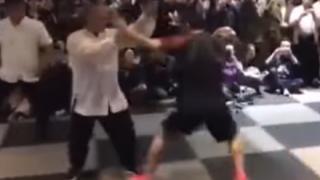 「中国武術は全部フェイク」総合格闘家VS太極拳の達人<動画>西洋格闘技に惨敗した中国伝統武術の現実