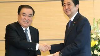 「韓国を相当見下してる」安倍首相の韓国大統領特使への『もてなし』が酷いと話題の画像