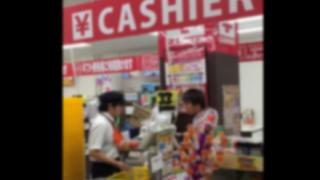 DQN客がドンキホーテで店員にブチギレ威嚇する動画が流出