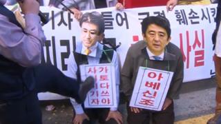 韓国で安倍首相の『支持率』を調査した結果わろたwwwwww