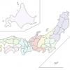 外国人が日本地図に地名を書き込んでみた結果がヤバいwwwww
