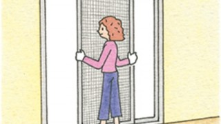 【蚊】この時期の虫対策『窓の網戸の正しい位置』お前らはもう知ってるよな(´・ω・`)