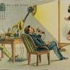 1910年に未来を予想して描かれた21世紀の絵が凄いwwwwwww