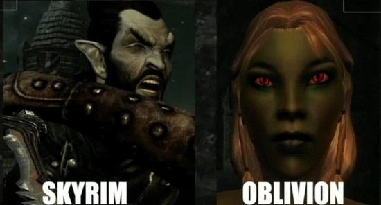 skyrim_dark_elf_vs__oblivion_by_greenappleshinigami-d46dbih