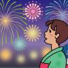 【幻想的】昨夜の花火大会 雨の中強行決行した結果 →動画像