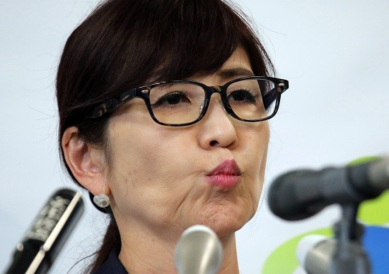 JAPAN-POLITICS-INADA-APOLOGY