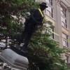 【世界共通】米のパヨク達が南北戦争南軍兵士の像を引きずり倒す様子をご覧ください ※胸糞注意※