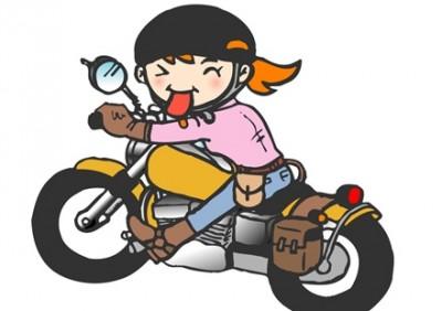 【悲報】バイクに乗り粋がってる昔のま~んさん →画像