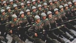 北朝鮮「2カ月で北朝鮮人口の3割が軍入隊志願」-朝鮮中央通信