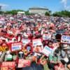 【沖縄サヨク拠点の様子】これ見ても基地反対運動は県民運動だと言えるの(´・ω・`)?