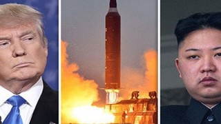 トランプ大統領 北朝鮮について「完全に破壊するしかないだろう、ロケットマンは自殺行為をしている」