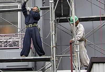 【職人芸】足場工の職人技が凄すぎると話題に →GIfと動画