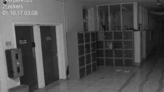 学校内で起きたポルターガイスト現象がモーションセンサーカメラで撮影される →GIfと動画