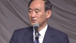 【菅官房長官】「民進党は一夜にして小池百合子氏の党に入るという。これはひどい」