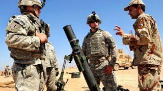 【画像】中東にある『米軍基地の配置図』が凄いwwwwww