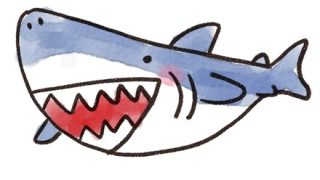 【画像】古代のサメさん もの凄い形で復元されてしまう…