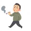 【悲報】電車内で喫煙するオッサン 注意され逆ギレ →画像