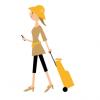 【日本上陸】歩くと後ろをついてくる『自走式』スーツケース<動画像>発売きたぁあああ(゚∀゚)