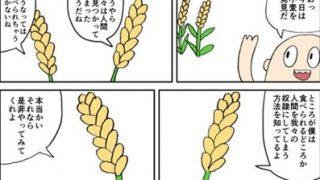『農耕生活』が『狩猟採集生活』に比べてクソすぎる事が判る漫画が話題に