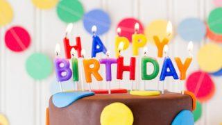 【おめ誕!】USJのお姉さんが水で道端に書いた誕生日お祝い →動画像