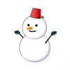 【画像】ヨーロッパ風の雪だるま作ってみたwwwww