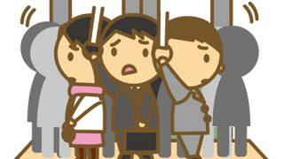 【命が危ない地獄の通勤】世界一混雑する列車の動画がヤバいwwwwww