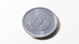 【神業】コインタワーの人 1円玉を縦に3枚積み上げる →画像
