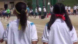 【速報】体育祭でとんでもない乳を揺らしてる女子高生が話題 →GIf画像
