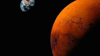 【赤い荒野】火星のパノラマ写真…火星探査機キュリオシティから送信