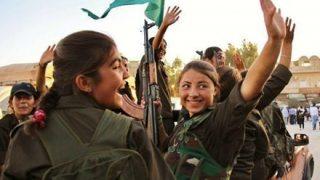 クルド人女性戦闘員の遺体切断動画がインターネットに拡散 怒りの声拡がる  トルコが支援するシリア反体制派勢力が動画作成…シリア