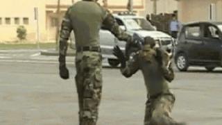 銃で脅された時に使える防衛術がこちら →