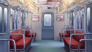 【ドン引き】電車内でガチでオナってる黒ギャルが撮影される →GIfと動画