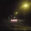 タクシーが『謎のエネルギー体』の直撃を受ける動画とGIf