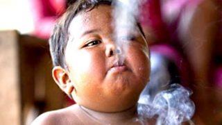 【あの人はいま】1日40本タバコを吸っていた8年前の2歳児の現在 ⇒