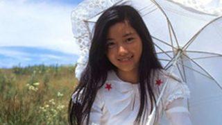 【生々しい美少女】手塚さとみちゃん14歳の横乳と20歳ヌード画像
