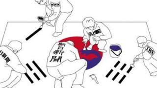 元自民議員の学長「テレビ局を中韓の局が乗っ取り」と報道 …朝日新聞