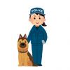 【いぬ】めっちゃ賢い警察犬が話題