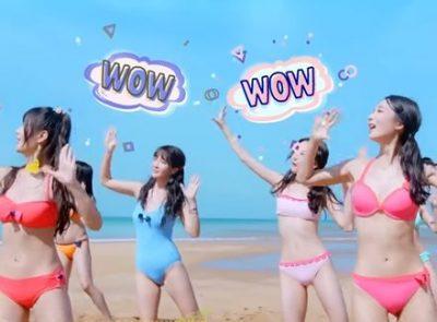 【圧勝か】ビキニ姿で歌い踊る中国SNH48のMVが「Hすぎる」と話題に ⇒GIfと動画像