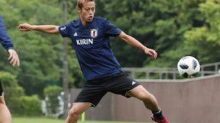 サッカー日本代表の『シュート練習』が下手すぎると話題に →GIFと動画