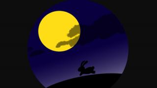 【画像】めっちゃ月が綺麗だったから写真撮ってみたwwwwwwww