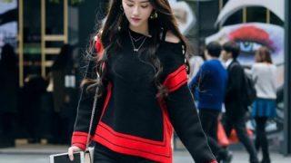 【画像】中国のその辺歩いてる『一般的な女子たち』のレベル高すぎワロタwwwwwww