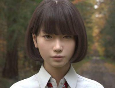 【動画像】実写にしか見えない美少女にそっくりなホンモノ美少女が話題