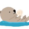 【動画像】ラッコの赤ちゃんが可愛すぎてツラい……